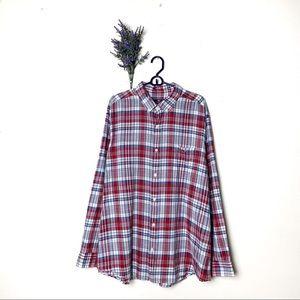 Red Vineyard Vines Classic Fit Tucker Shirt Men XL